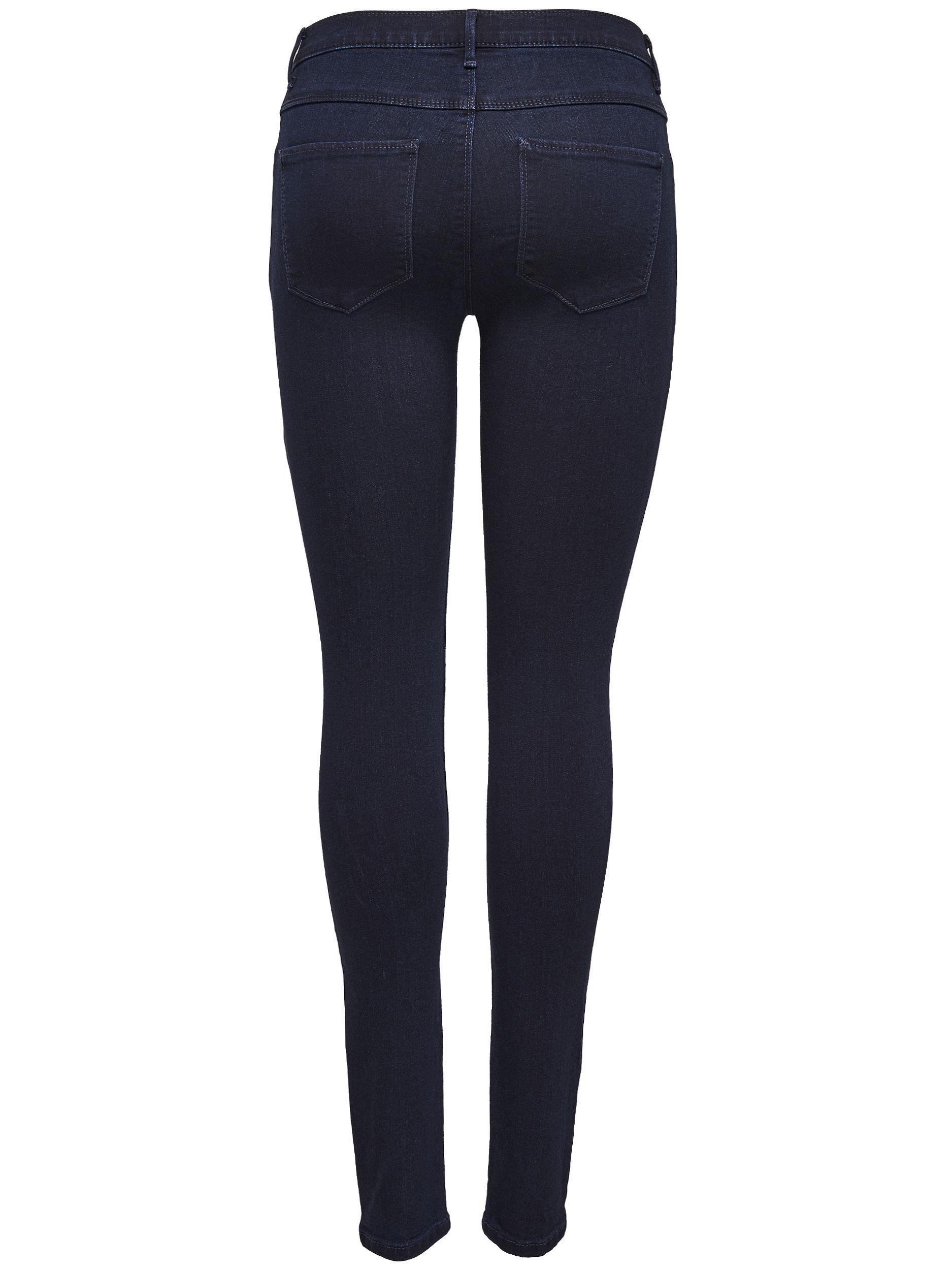 only damen jeans leggings onlrain reg skinny cry 1050 dark blue denim damen jeans skinny jeans. Black Bedroom Furniture Sets. Home Design Ideas