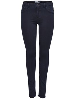 ONLY Damen Jeans Leggings onlRAIN REG SKINNY CRY 1050 Dark Blue Denim 001
