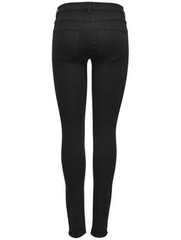ONLY Damen Jeans Leggings onlRAIN REG SKINNY CRY 6060 Black Denim – Bild 2