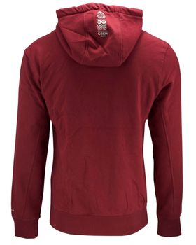 CROSSHATCH Herren Sweatshirt Pullover SATURN SWEAT TAPED HOOD Hoodie Kapuze Neon – Bild 9
