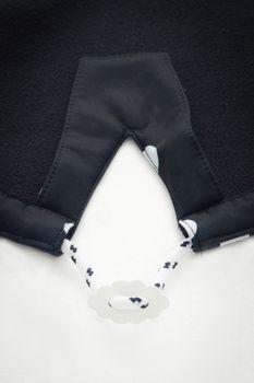 AMUNDSENS FJELL Damen Softshell-Mantel GURRI Parka Jacke Übergang Punkte schwarz – Bild 9
