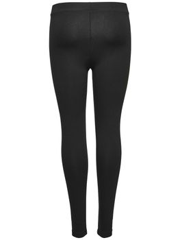 ONLY Damen Basic Leggins Hose onlLIVE LOVE NEW LEGGINGS NOOS schwarz – Bild 3