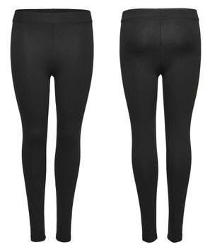 ONLY Damen Basic Leggins Hose onlLIVE LOVE NEW LEGGINGS NOOS schwarz – Bild 1