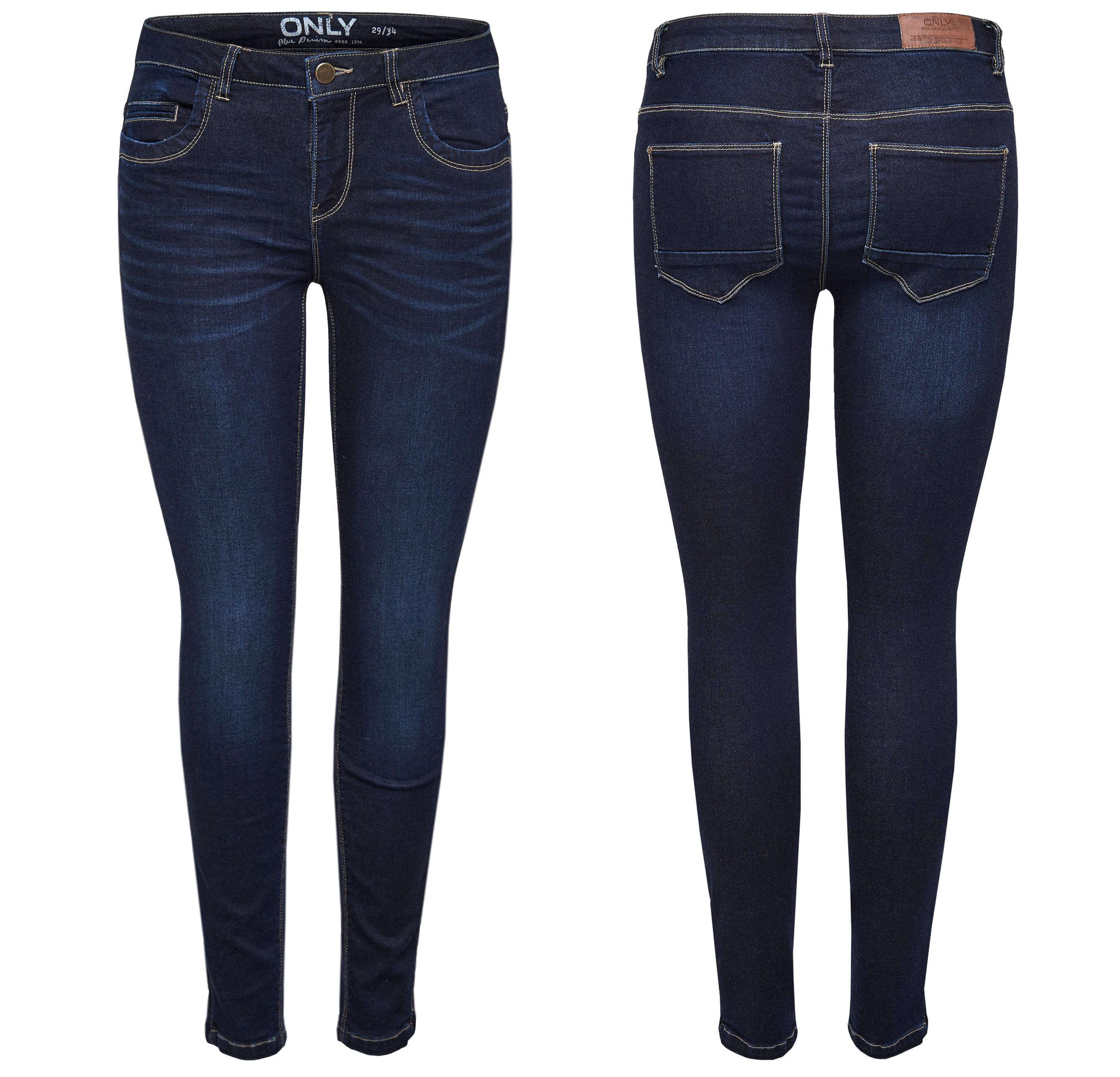 ONLY Damen Jeans Hose onlKENDELL REG ANK BJ9511 NOOS Ankle dunkelblau denim 3aa1d476b6