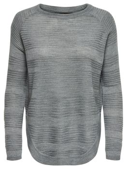 ONLY Damen Oversize Strick-Pulli Shirt onlCAVIAR L/S PULLOVER KNT NOOS – Bild 7