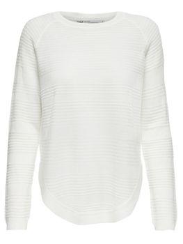 ONLY Damen Oversize Strick-Pulli Shirt onlCAVIAR L/S PULLOVER KNT NOOS – Bild 9