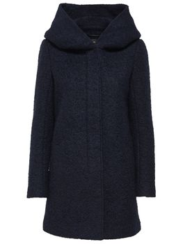 ONLY Damen Wollmantel Mantel Jacke onlINDIE NOMA WOOL COAT Parka Übergang Winter – Bild 10