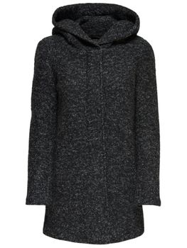 ONLY Damen Wollmantel Mantel Jacke onlINDIE NOMA WOOL COAT Parka Übergang Winter – Bild 11