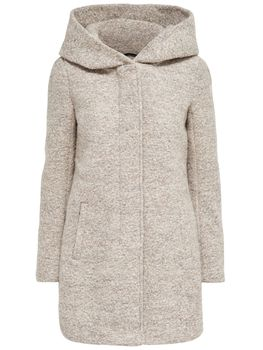 ONLY Damen Wollmantel Mantel Jacke onlINDIE NOMA WOOL COAT Parka Übergang Winter – Bild 2