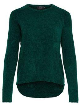 ONLY Damen Strick-Pulli Shirt onlSWAY L/S PULLOVER KNT NOOS vokuhila – Bild 6