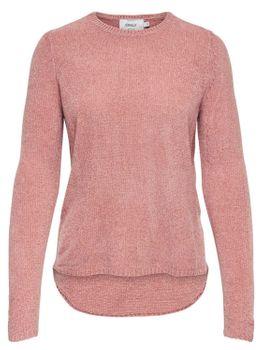ONLY Damen Strick-Pulli Shirt onlSWAY L/S PULLOVER KNT NOOS vokuhila – Bild 2