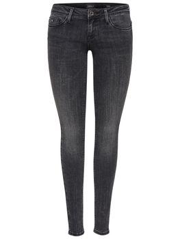 ONLY Damen Jeans Hose onlCORAL SL CRE169061 NOOS super low skinny denim grau – Bild 2