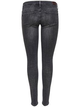 ONLY Damen Jeans Hose onlCORAL SL CRE169061 NOOS super low skinny denim grau – Bild 3