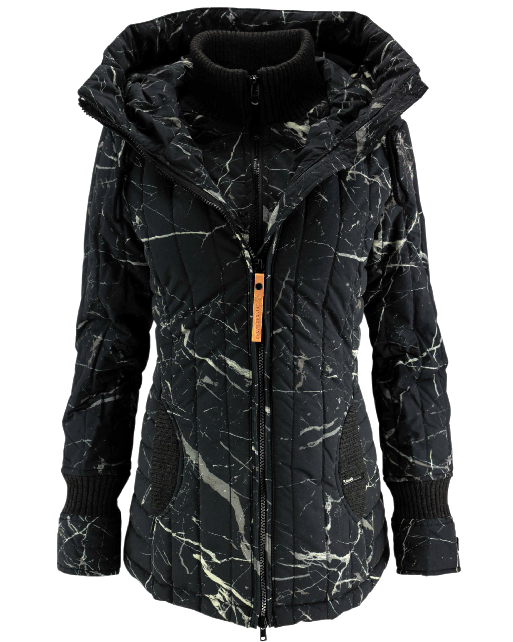 the best attitude e8a37 8a30c KHUJO Damen Winterjacke Jacke Mantel TWEETY PRIME Winter Parka Kapuze
