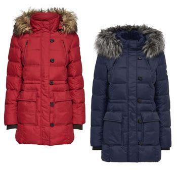 ONLY Damen Winterjacke Stepp-Jacke Mantel onlNEW OTTOWA NYLON COAT 001