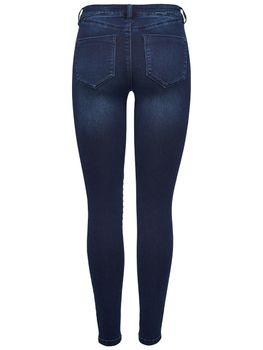 ONLY Damen Jeans Leggings onlROYAL BIKER REG DNM BJ11502 Jeggings dunkelblau – Bild 2