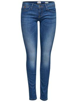 ONLY Damen Jeans Hose onlCORAL SL SK DNM CRE160353 NOOS superlow skinny – Bild 2