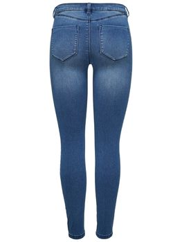 ONLY Damen Jeans Leggings onlROYAL REG SKINNY BIKER BJ11503 Jeggings mittelblau – Bild 3