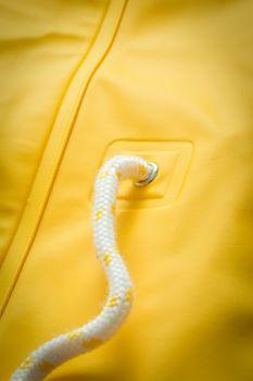 AMUNDSENS FJELL Damen Regenmantel Regenjacke HEDDA ICE Parka Friese gelb gefüttert – Bild 12
