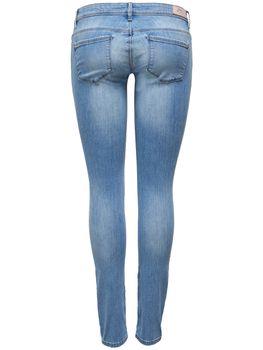 ONLY Damen Jeans Hose onlCORAL SUPERLOW SK JEAN CRE169637 Skinny hellblau – Bild 3