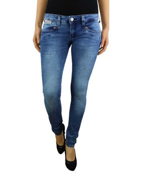 HERRLICHER Damen Jeans PIPER SLIM 5650 D9668 724 pearl river Denim Powerstretch – Bild 2