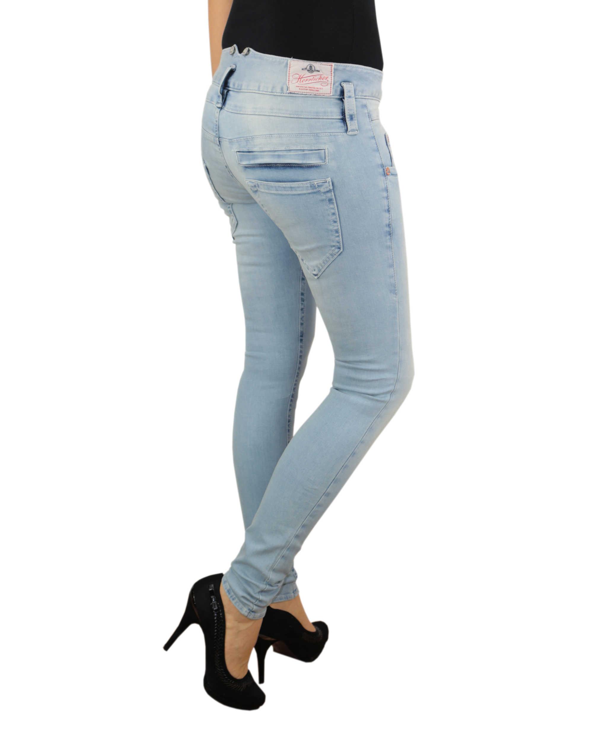 herrlicher damen jeans pitch slim 5303 d9668 723 ice denim. Black Bedroom Furniture Sets. Home Design Ideas
