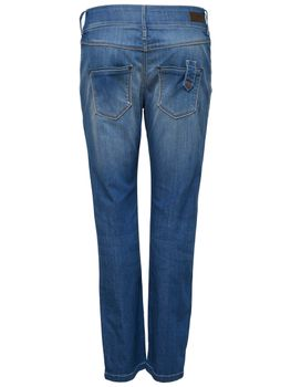 ONLY Damen Chino Jeans Hose onlLALA ANKLE JEANOS REA20716 Boyfriend medium blue – Bild 5