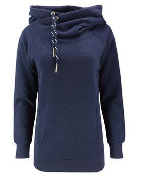 ONLY Damen Sweatshirt Pullover onlCAMMI L/S HOOD SWT Hoodie Kapuze Kirschen – Bild 2