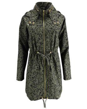 ONLY Damen Übergangs-Mantel Jacke onlJASMIN OVERSIZED AOP PARKA OTW Kurzmantel – Bild 6