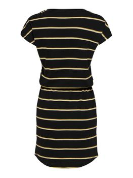 ONLY Damen Kleid onlMAY S/S DRESS NOOS kurzarm Sommerkleid Shirtkleid Streifen Punkte – Bild 20