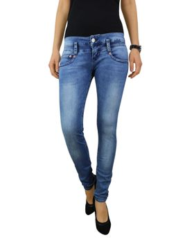 HERRLICHER Damen Jeans PITCH SLIM 5303 D9668 724 pearl river Denim Powerstretch  – Bild 2