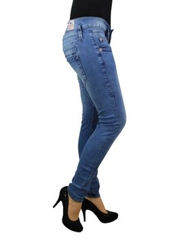 HERRLICHER Damen Jeans PITCH SLIM 5303 D9668 724 pearl river Denim Powerstretch  – Bild 4