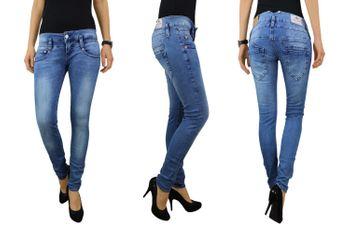HERRLICHER Damen Jeans PITCH SLIM 5303 D9668 724 pearl river Denim Powerstretch  001
