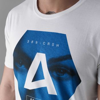 CROSSHATCH Herren T-Shirt HEXES CH PHOTO FACE PRINT TEE kurzarm – Bild 7