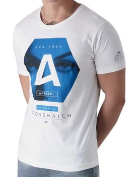 CROSSHATCH Herren T-Shirt HEXES CH PHOTO FACE PRINT TEE kurzarm – Bild 6