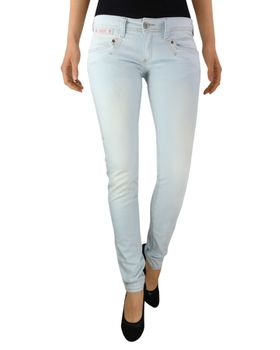 HERRLICHER Damen Jeans PIPER SLIM 5650 D9030 734 jiggered Denim Powerstretch hellblau – Bild 2