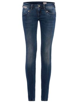 HERRLICHER Damen Jeans PIPER SLIM 5650 D9668 725 fern blue Denim Powerstretch