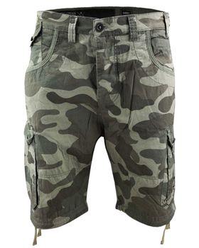 CROSSHATCH Herren Shorts RYEHILL CAMO COMBAT kurze Hose Camouflage – Bild 5