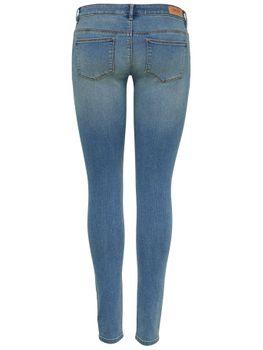 ONLY Damen Jeans Hose onlCORAL SL SK DNM CRYA010 NOOS superlow skinny mittelblau – Bild 2