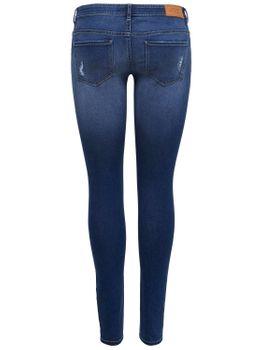 ONLY Damen Jeans Hose onlCORAL SL SK DNM CRYA022 superlow skinny dunkelblau – Bild 3