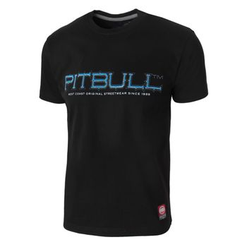 PIT BULL WEST COAST Herren T-Shirt BLUE EYED DEVIL schwarz California rundhals – Bild 2