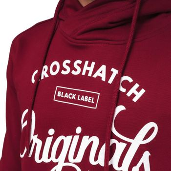 CROSSHATCH Herren Sweatshirt Pullover GILGURRY CH ORIGINALS PRINTS Kapuze – Bild 7