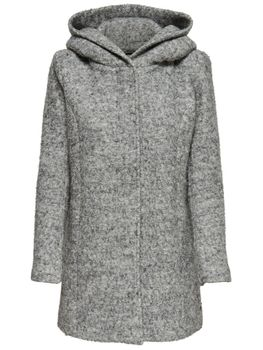 ONLY Damen Wollmantel Mantel Jacke onlSEDONA BOUCLE WOOL COAT OTW NOOS Übergang Winter – Bild 2