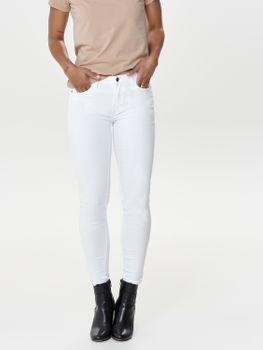 JDY by ONLY Damen Hose Jeans Leggings JDYNEWFIVE SKINNY RW WHITE PNT weiß – Bild 3