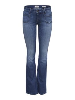 ONLY Damen Hose onlNEW EBBA LOW FLARED JEANS BB REA6657 denim Bootcut blau – Bild 2