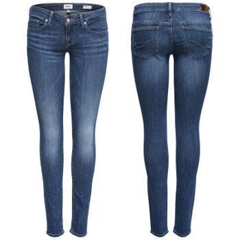 ONLY Damen Jeans Hose onlCORAL SL DNM BB CRE17527 NOOS superlow skinny denim blau – Bild 1
