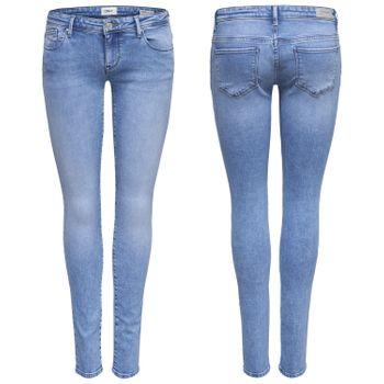 ONLY Damen Jeans Hose onlCORAL SL SK BB REA3269 NOOS superlow skinny hellblau