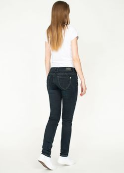 MIRACLE OF DENIM M.O.D. Damen Jeans Hose MARIA SLIM NOS Calabria Black blau – Bild 4