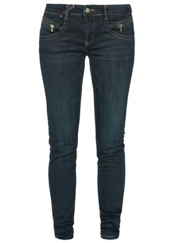 MIRACLE OF DENIM M.O.D. Damen Jeans Hose MARIA SLIM NOS Calabria Black blau – Bild 2