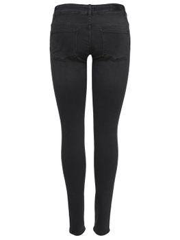 ONLY Damen Hüft Jeans Hose onlCORAL SL DNM REA1099 superlow skinny schwarz grau – Bild 3